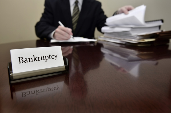 Bankruptcy breakdown